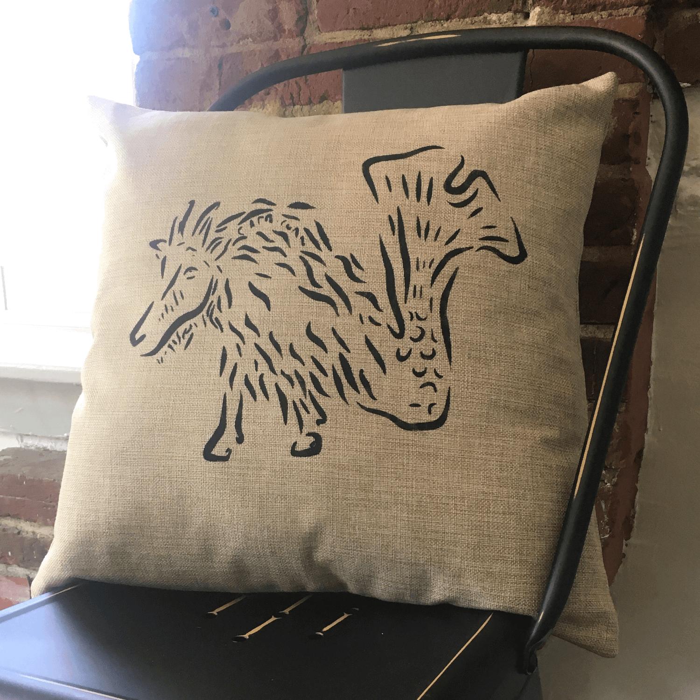 Linen Pillow Example