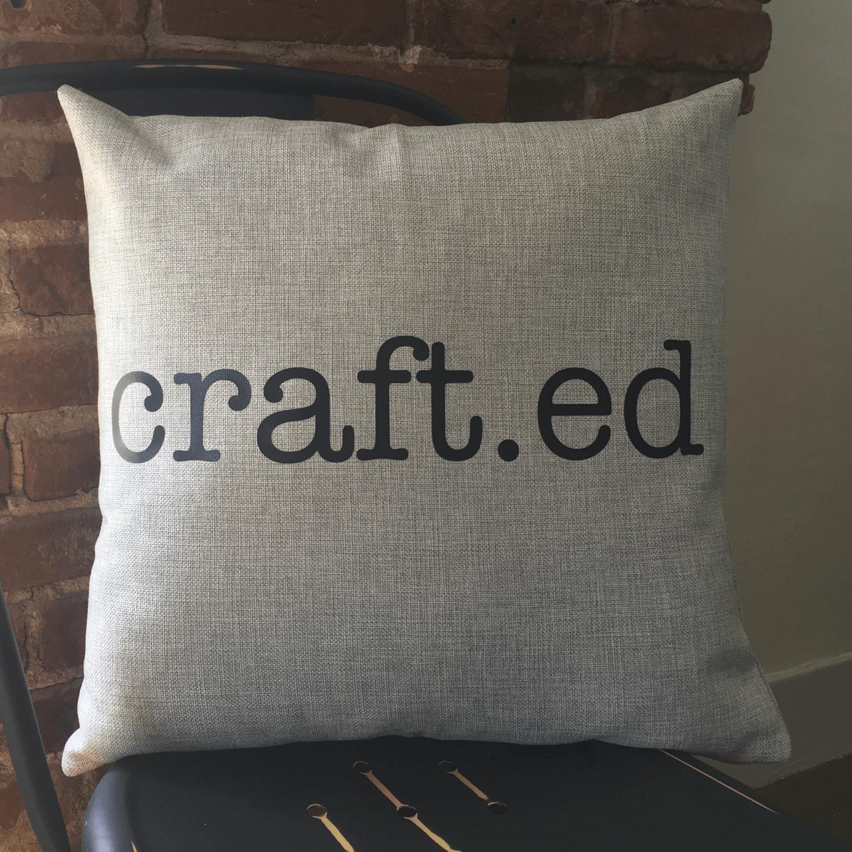 Light Grey Pillow Example