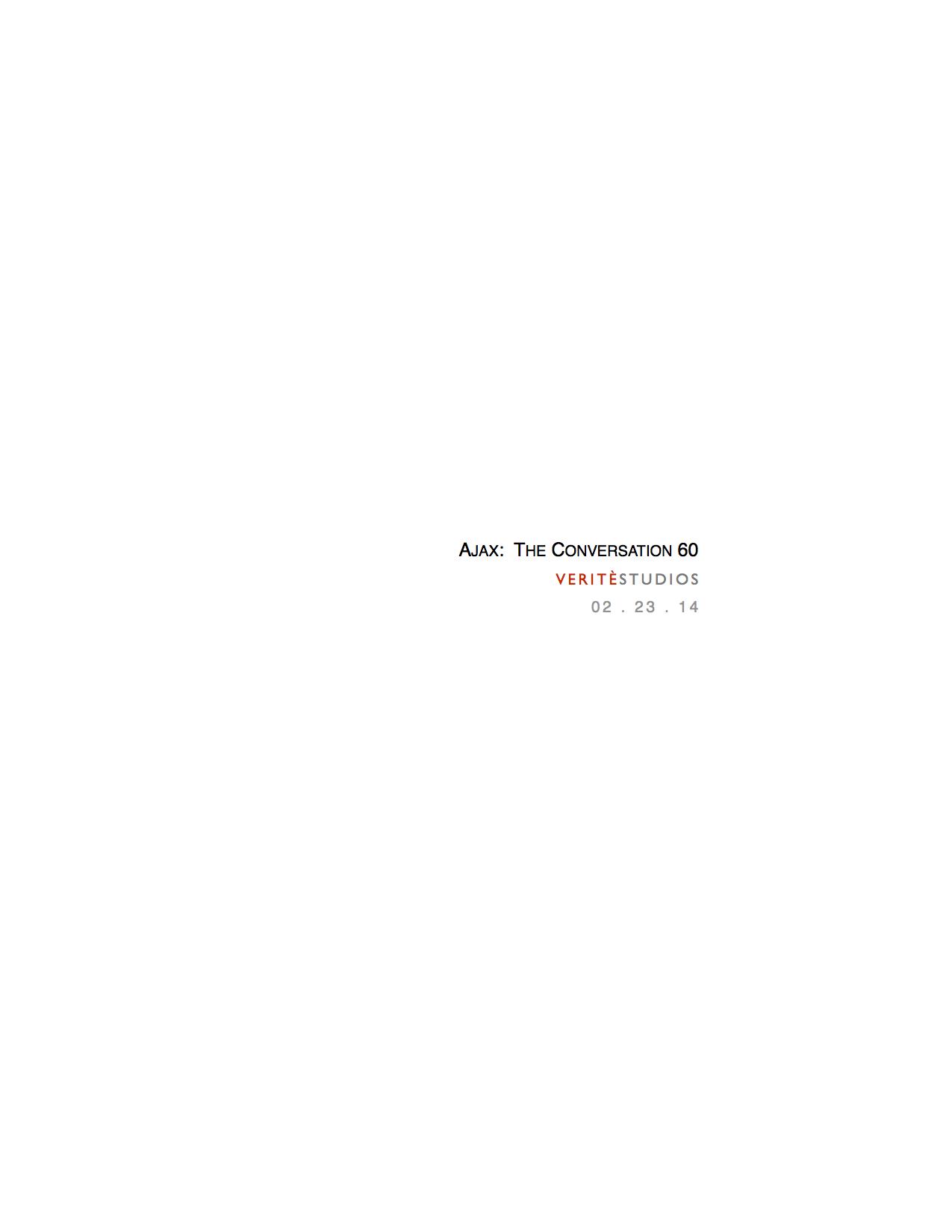 Ajax: The Conversation Script