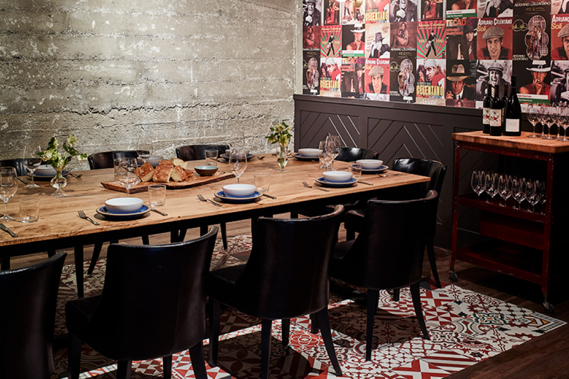 CHE FICO - 'The Celentano Room'Up to 16 Seatedevents@chefico.comchefico.com