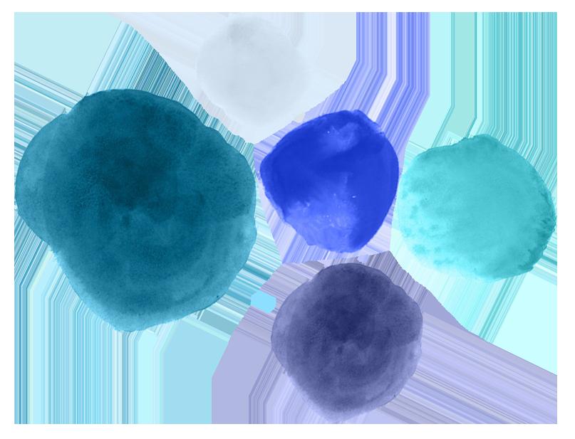- Azure, Cobalt, Sapphire, Indigo, Midnight Blue, Aquamarine, Slate Blue, Cyan, Prussian Blue, Ultramarine