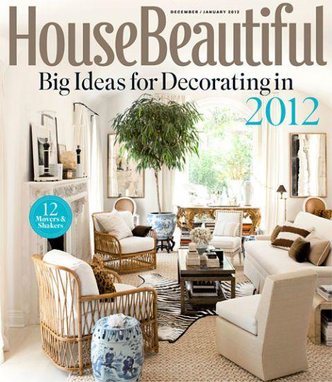 House Beautiful - December 2011