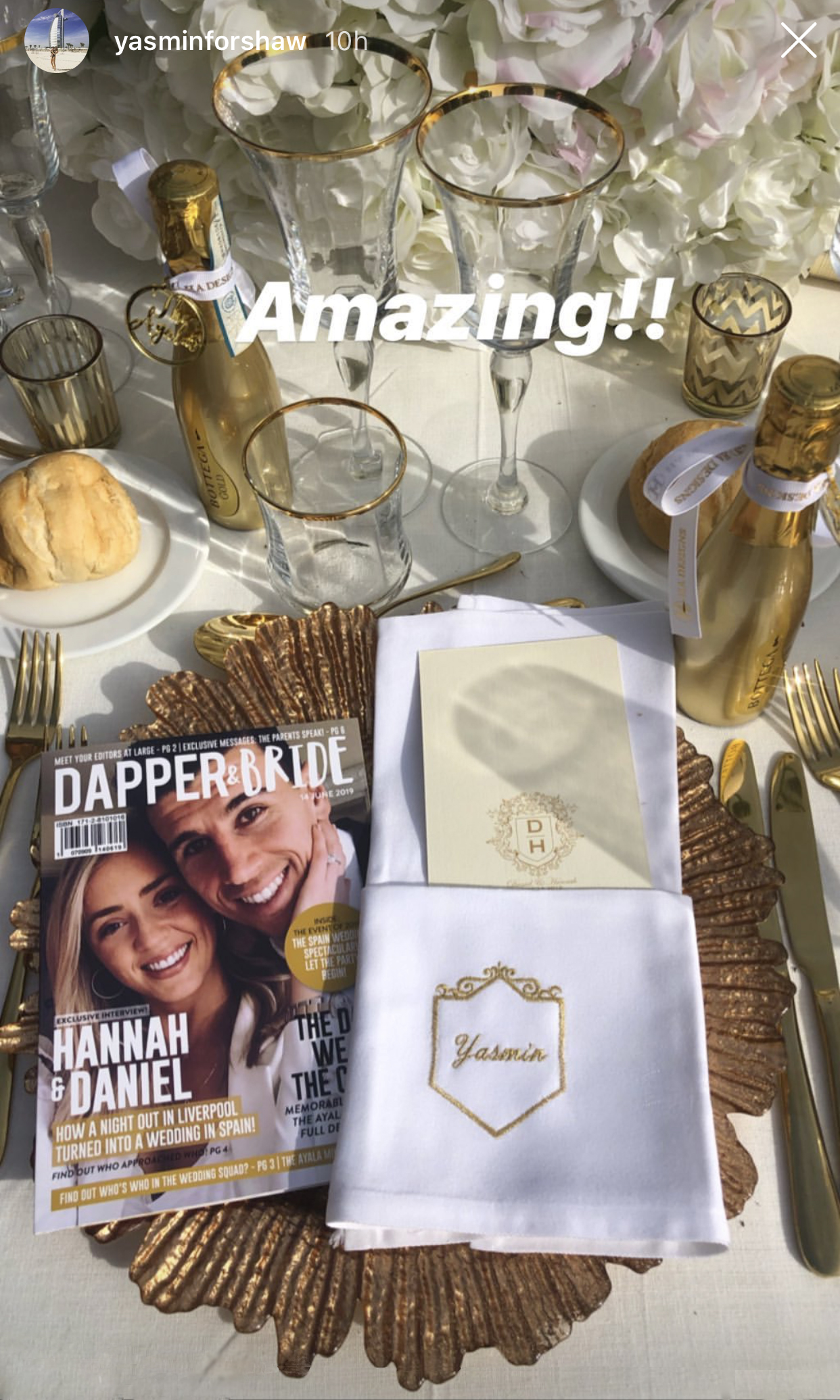 Hannah and Daniel Dapper & Bride Personalised Wedding Magazine Wedding Table Setting Post.jpg