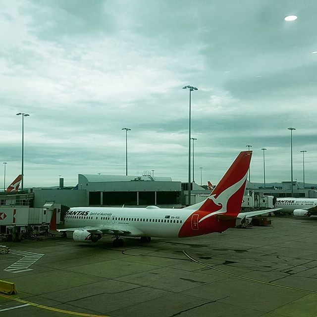 End of job and of to our next journey #haveagoodweekend #constructionlife #worklife #travellife #australia #fitout #flight #qantas #qantasairways #keeptuned