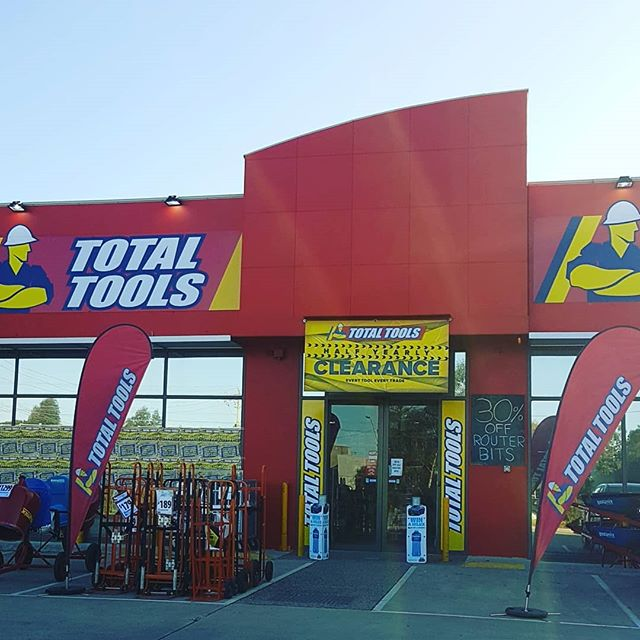 Seeing whats good before we head back to Sydney - #totaltools #melbourne #tools #bargainhunt #discount #clearance #selfstorage #everytooleverytrade #construction #business #life #needs #morning #sunny