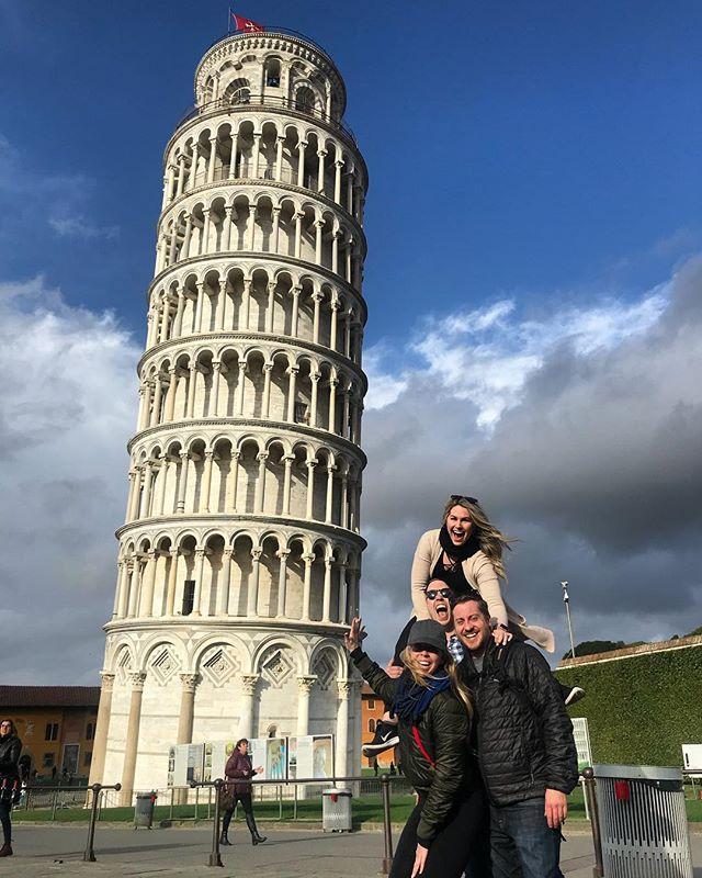 Obligatory Pisa tourist pic! @jclonts04 @jennyhillgirl @aaronroberthill