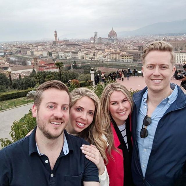 On top of Florence!🇮🇹⛪️ @jennyhillgirl @aaronroberthill @jclonts04