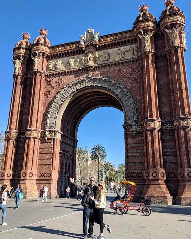 Arco de Triunfo de Barcelona!  @jclonts04