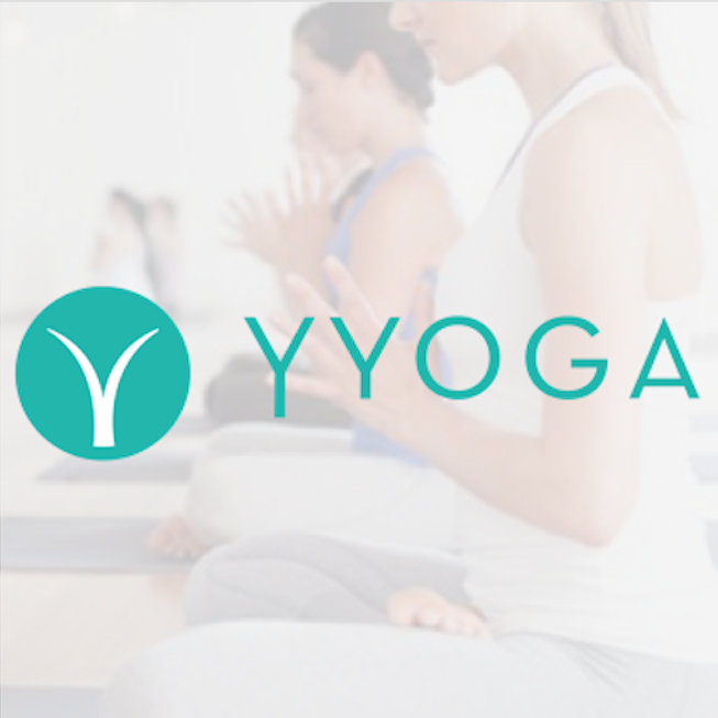 YYoga   is a yoga, fitness, and wellness company based in Vancouver, British Columbia. It is the largest corporate-owned yoga company in Canada. YYoga offers classes in Vancouver & Toronto across 12 studios offering 15 styles of yoga and fitness.