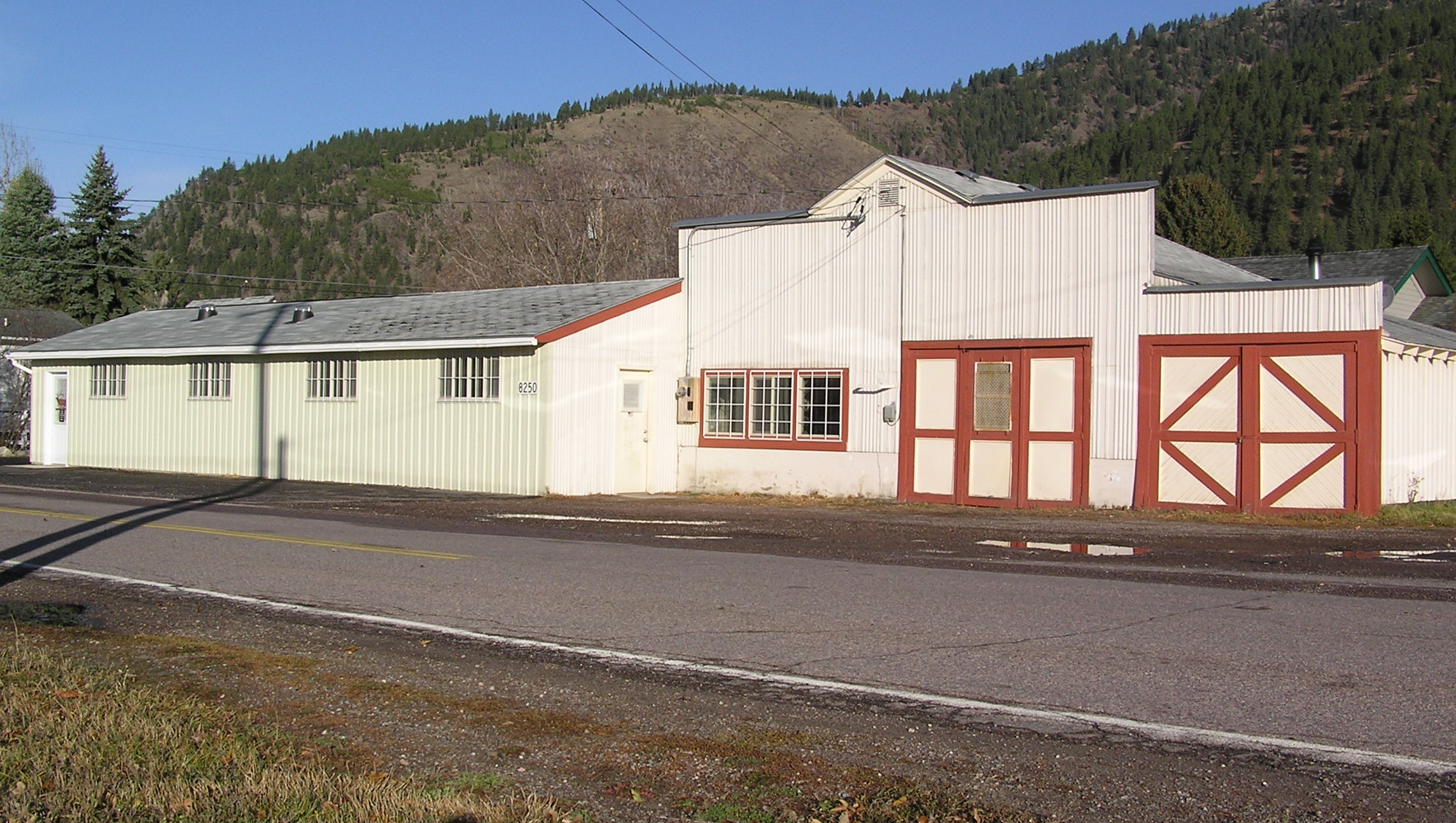 Our world headquarters in Bonner, Montana. -