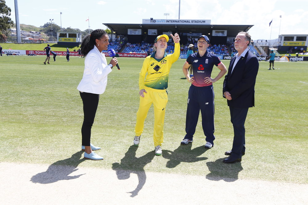 Haynes led the team during Lanning's time away. Now in the role of vice-captain, she''l continue to assist Meg as the Aussies chase success
