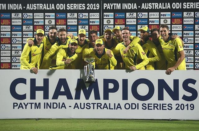 2 series in India, 2 series wins! ✅✅ Unbelievable effort from this group. On to Dubai 😎 #ytb #cmonaussies
