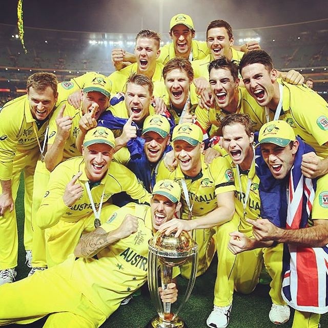 World Cup time is here! Can't wait to get out there today and start our WC campaign. 2015 was an amazing year for Australian Cricket, and hopefully we can bring the same sort of success to 2019. I'm incredibly grateful to be apart of this squad, to be given the chance to defend our 2015 title is a huge honour.  Can't wait to take the field with a great bunch of lads 💪🏻#worldcup2019 #cmonaussie