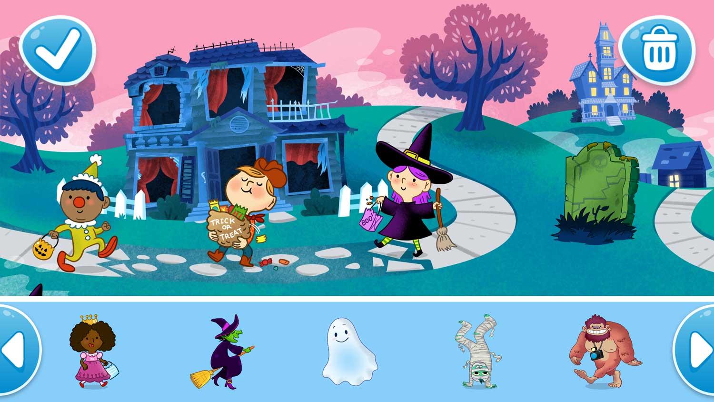 Halloween, illustrated by Dan Hood
