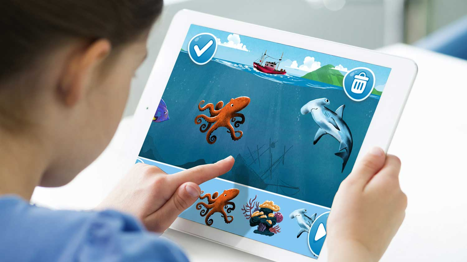 MAKE YOUR OWN STORY can be played on iPad, iPhone, Android and the Web.