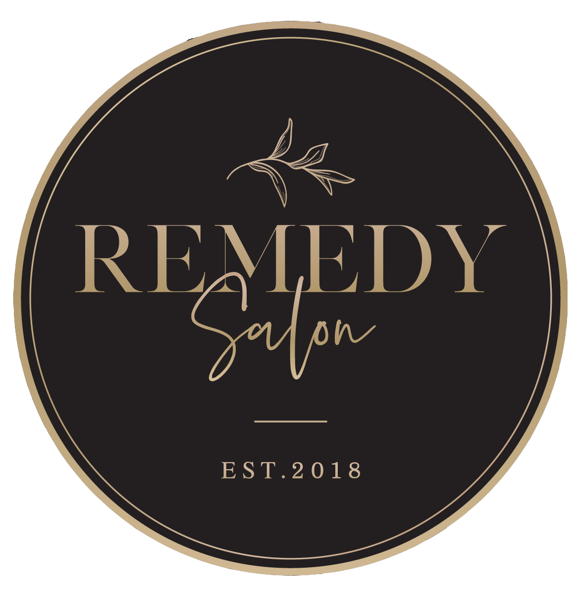 Design REMEDY SALON (Alternative 4) Gold CROP.png