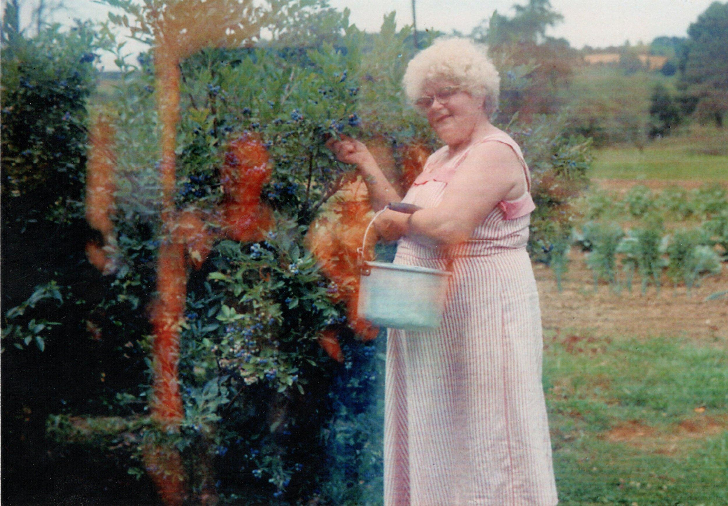 Grandma Himsel on the farm (1).jpg