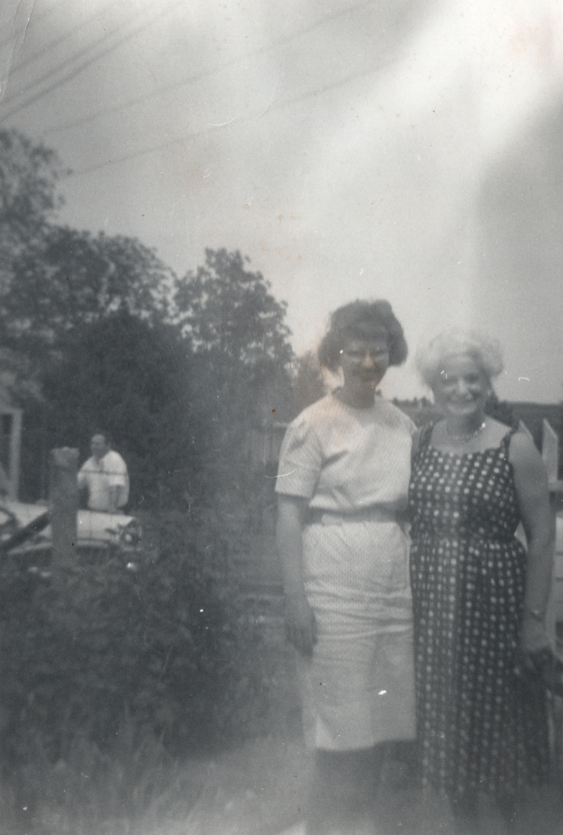 My mother and Aunt Margaret