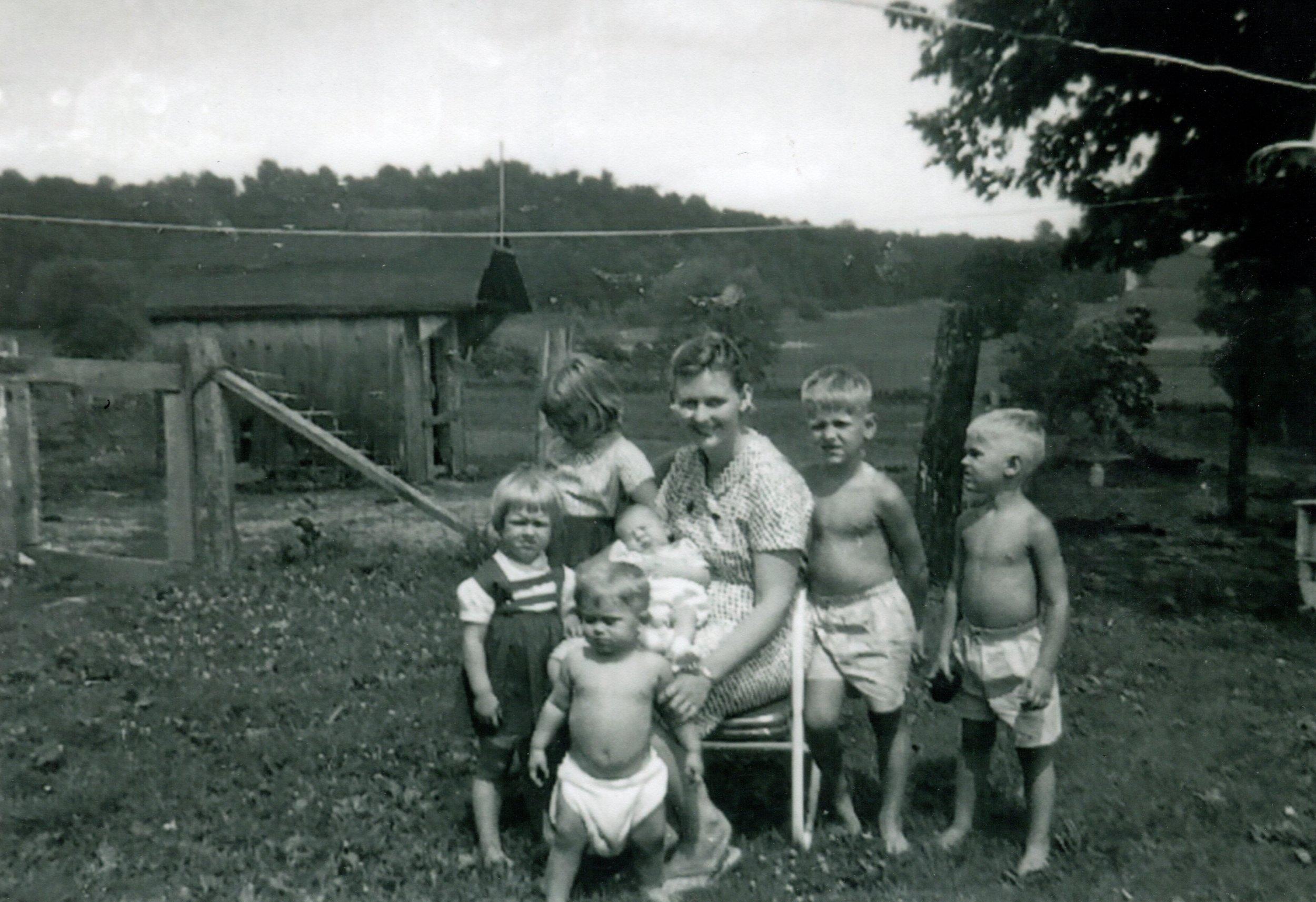 My mother's family farm