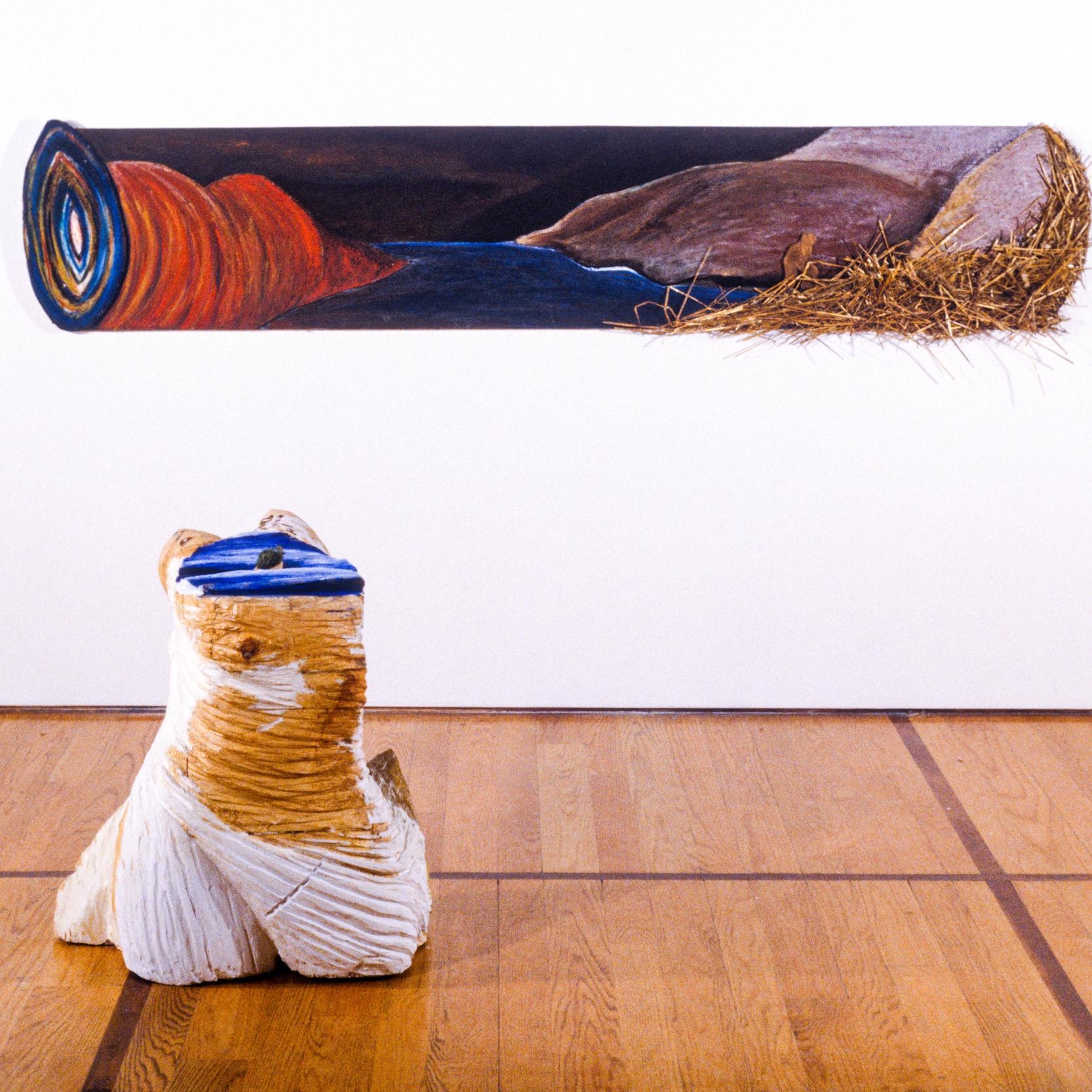 Billot #1 &Vénus de billot  |Collection Prêt d'oeuvres d'art du Musée national des beaux-arts du Québec,Collection Banque d'oeuvres d'art du Conseil des Arts, Ottawa|