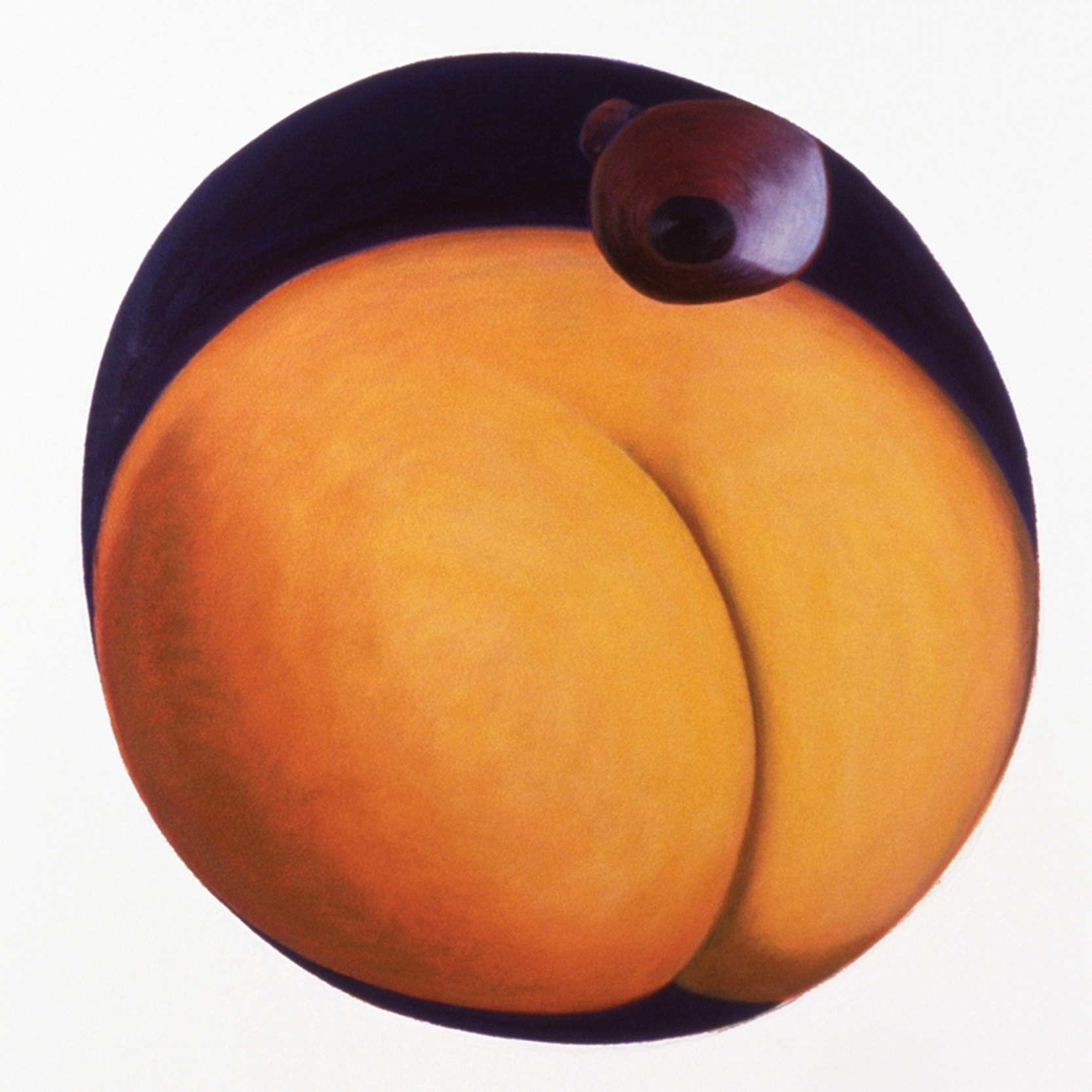 Buttocks  | 1 of 5 elements :  Oil/Paper/108x85cm