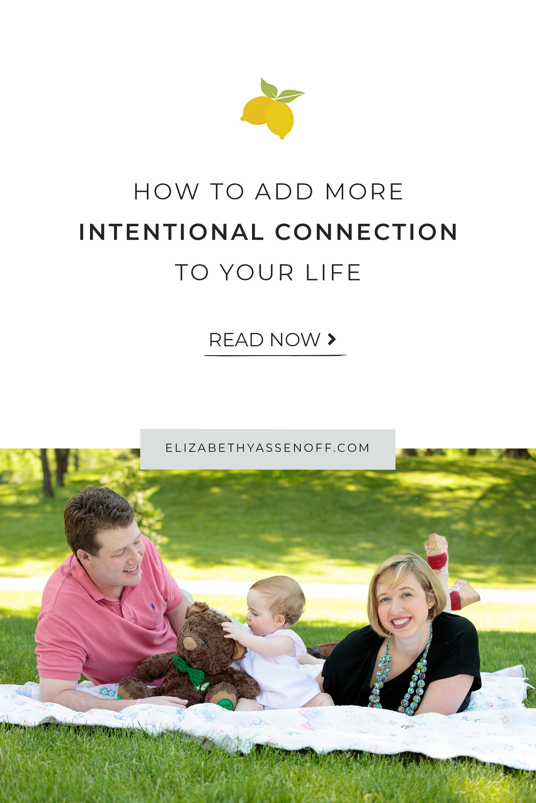Humans crave connection. Read 5 ways to intentionally reach out, making space for that connection we crave.