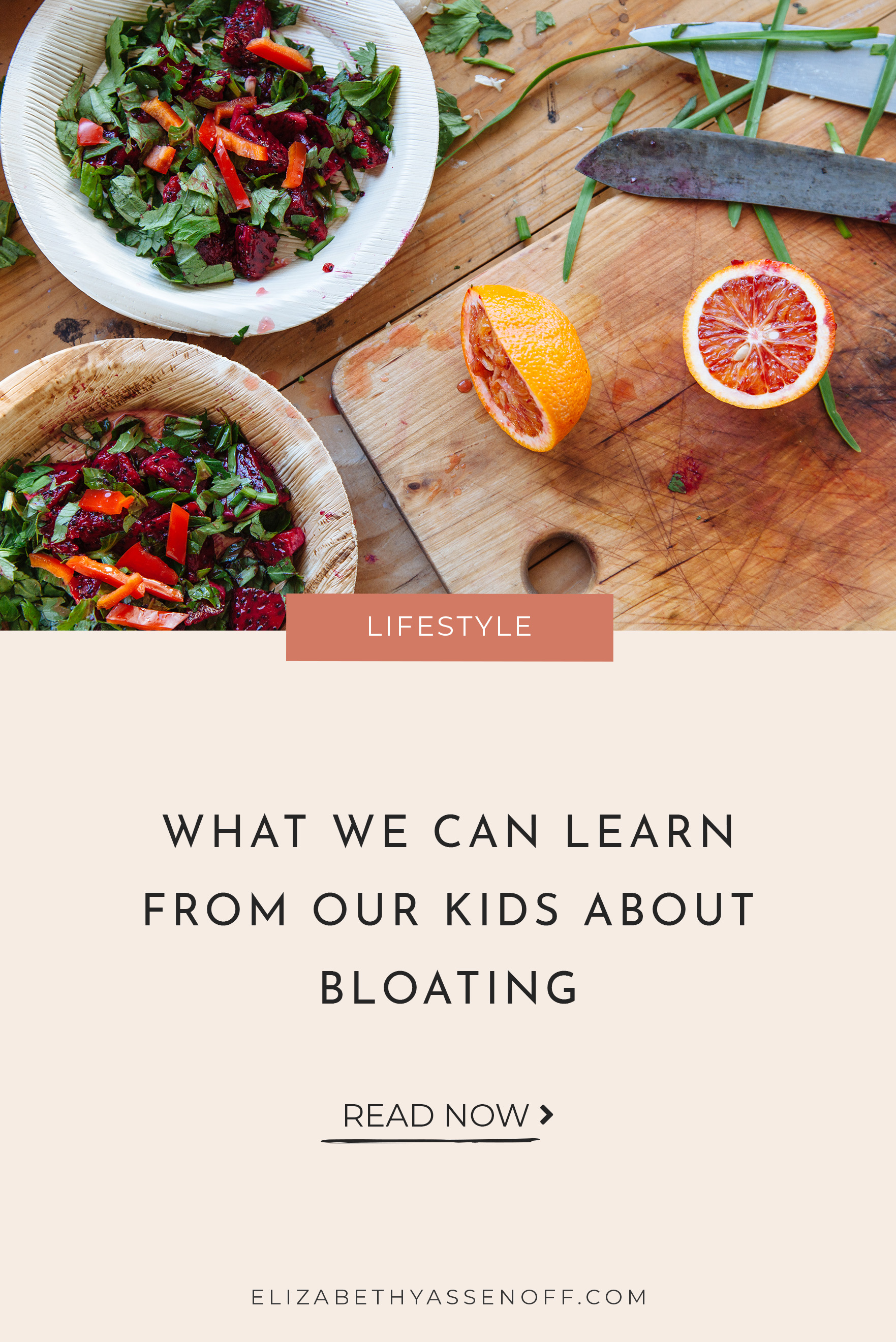 """How do you feel when you get bloated after eating? For me, at least in the past, I have felt shame, guilt, and worry over whether I've eaten something I """"shouldn't have."""" Bloating has inspired many guilt spirals, multiple diets, and many experiments with cutting out certain foods out of fear that I was intolerant or allergic.  Then, Ella Jane gets bloated and we laugh. It's adorable."""