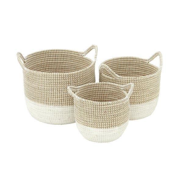 Seagrass 3 piece basket