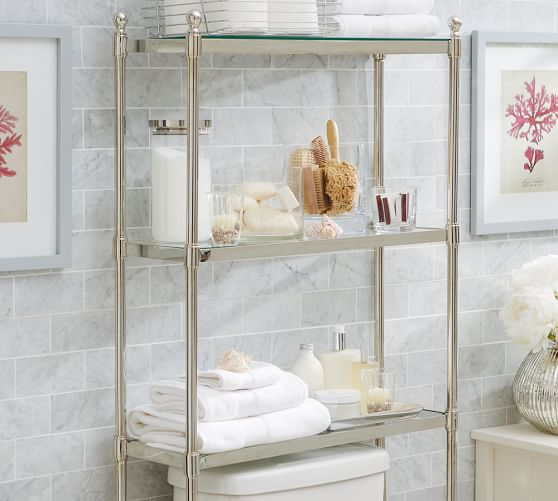 Over the toilet Etagere