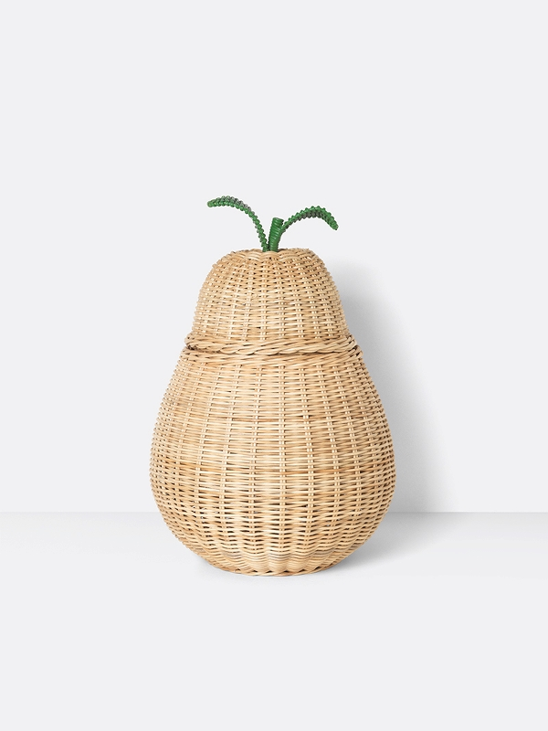 Pear Braided Basket
