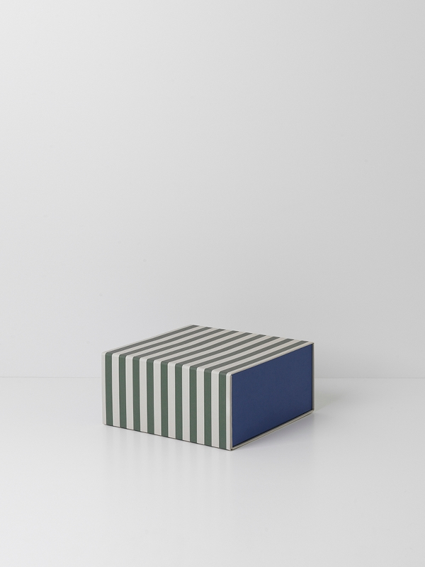 Striped box