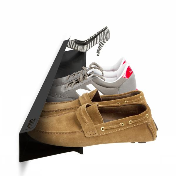 floating wall shoe rack