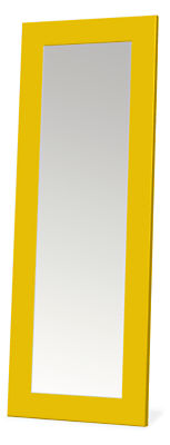 Entry mirror in colors
