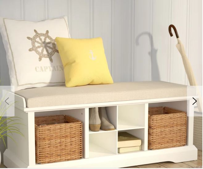 wabasso storage bench