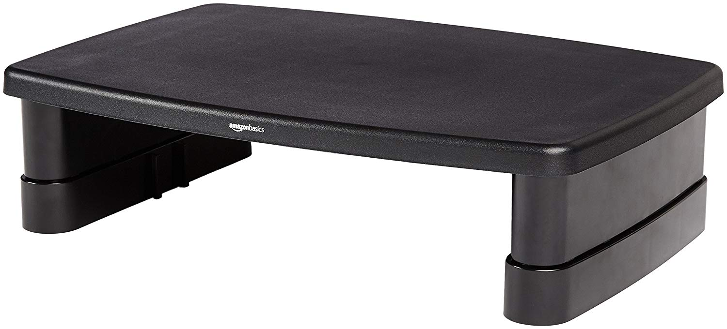 amazon basics monitor stand