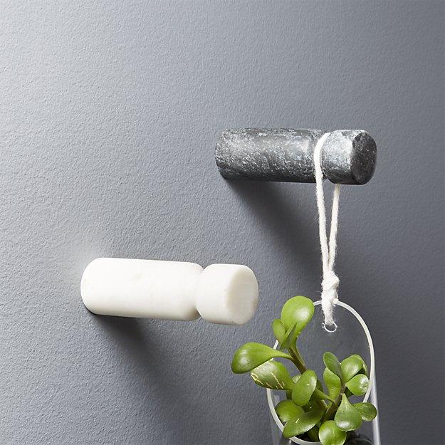 marble wall hooks