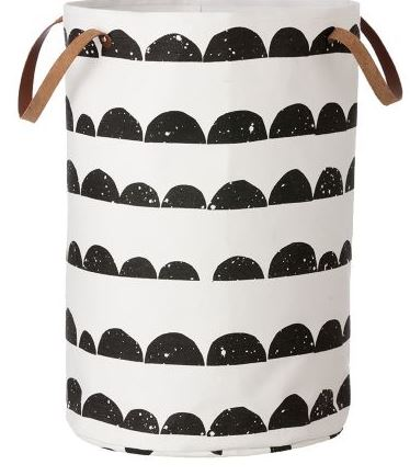 half moon laundry basket