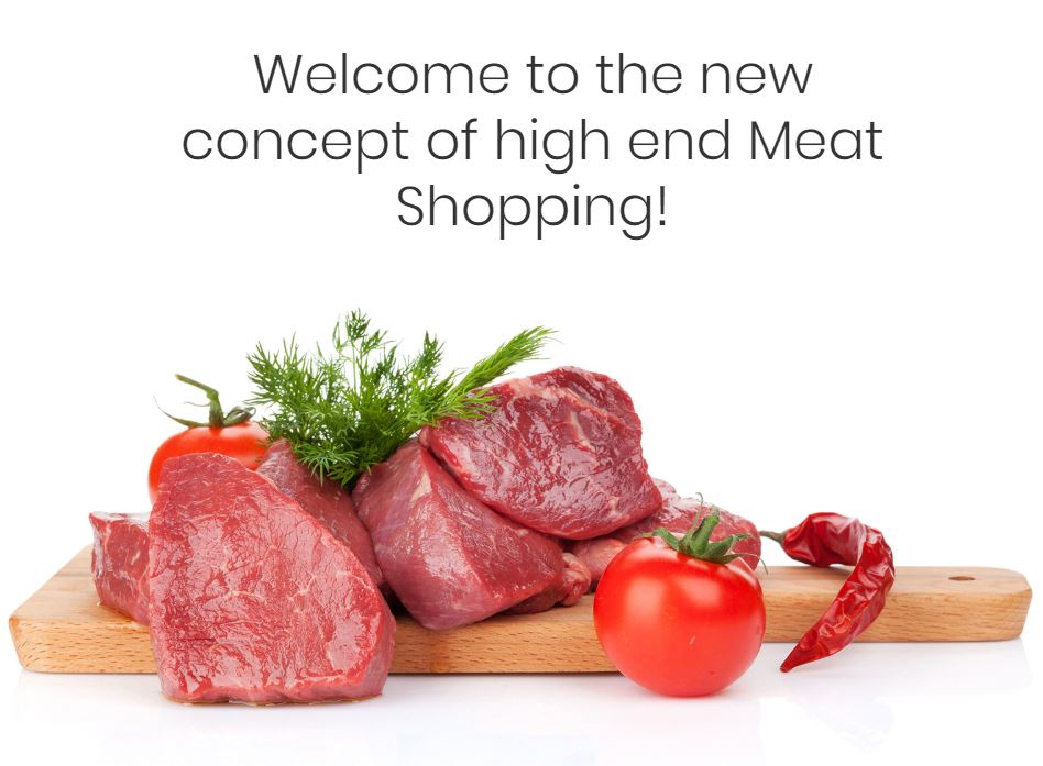 luxury Meat shopping