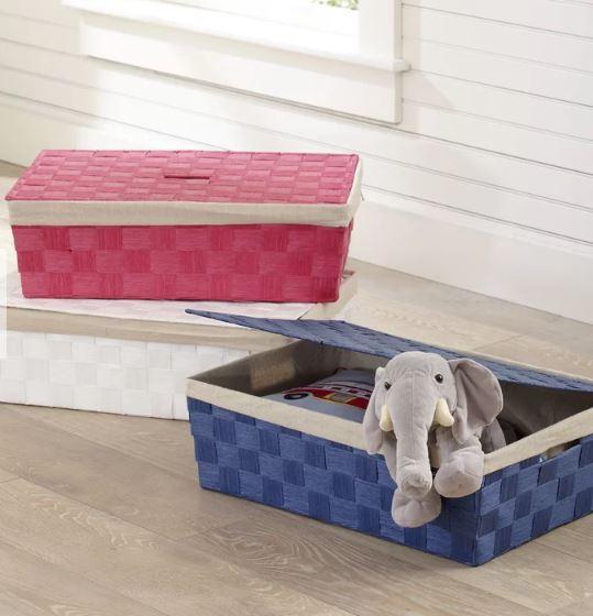 under bed basket