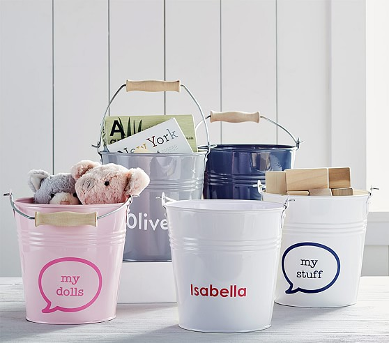 galvanized metal buckets