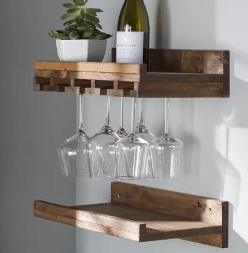 bernon wall mounted rack