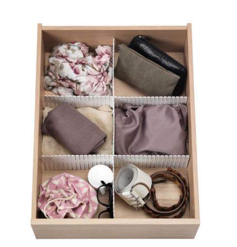 ikea drawer organizers