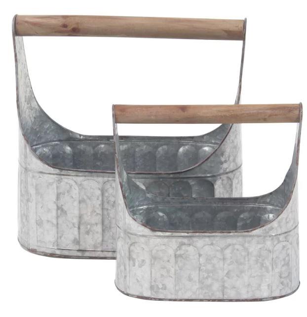 farmhouse flatware caddy