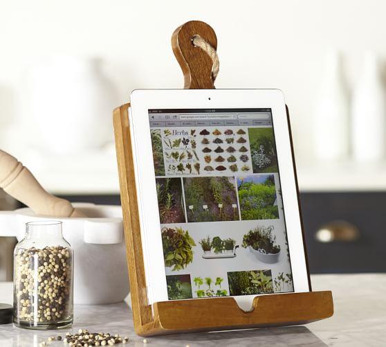 PB tablet recipe holder