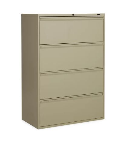 1900 4-drawer lateral