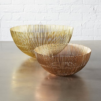 CB2 wire bowls