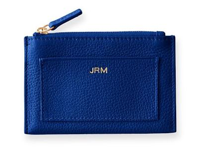 Vivid Zip card case in colors
