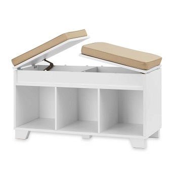 real simple storage bench