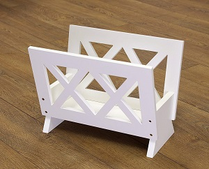 frenchie magazine rack