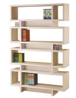 wade logan standard bookcase